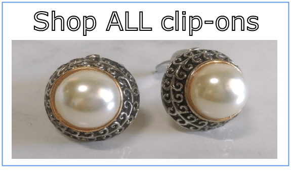shop all clip on earrings